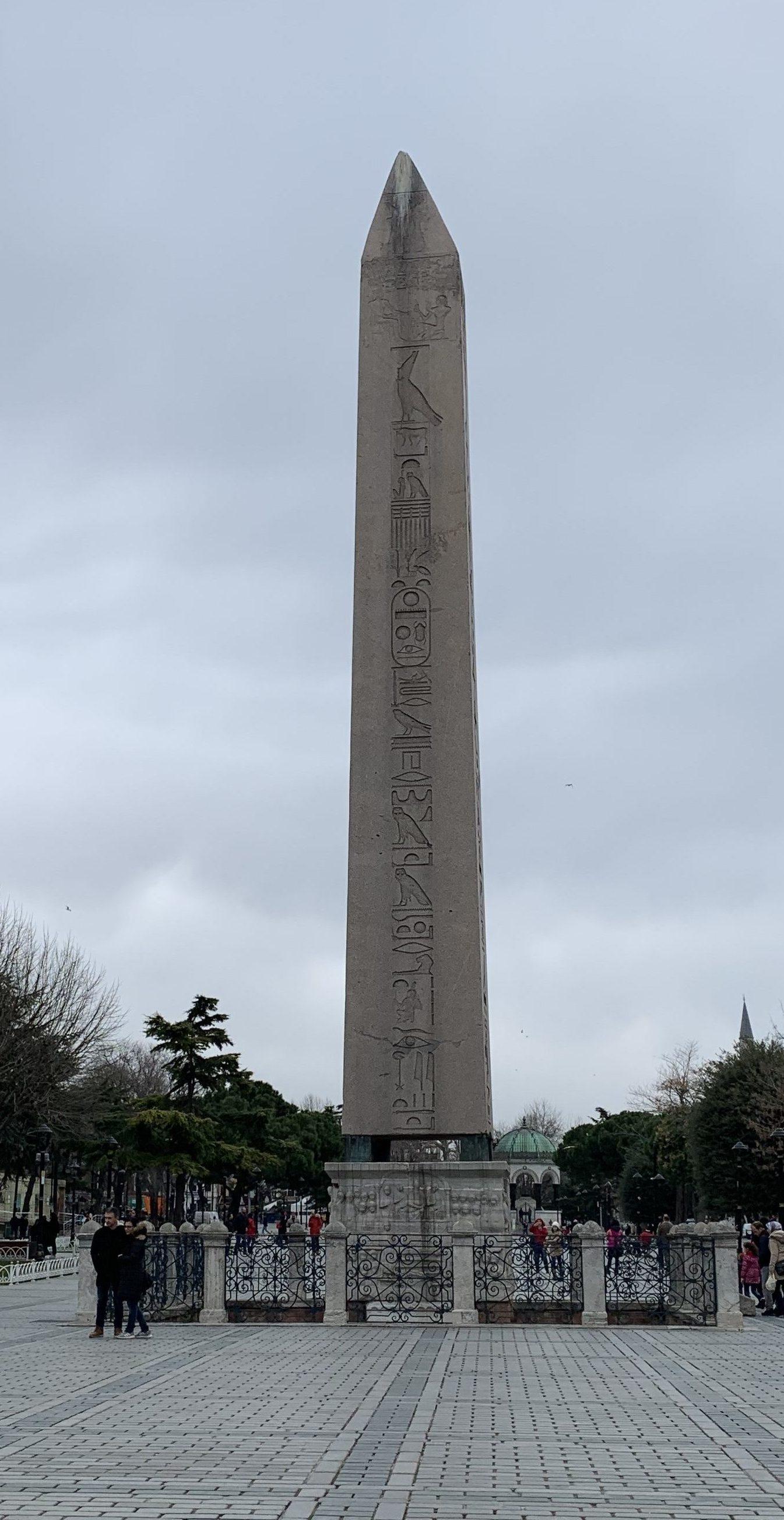 obelisco- hipódromo-estambul