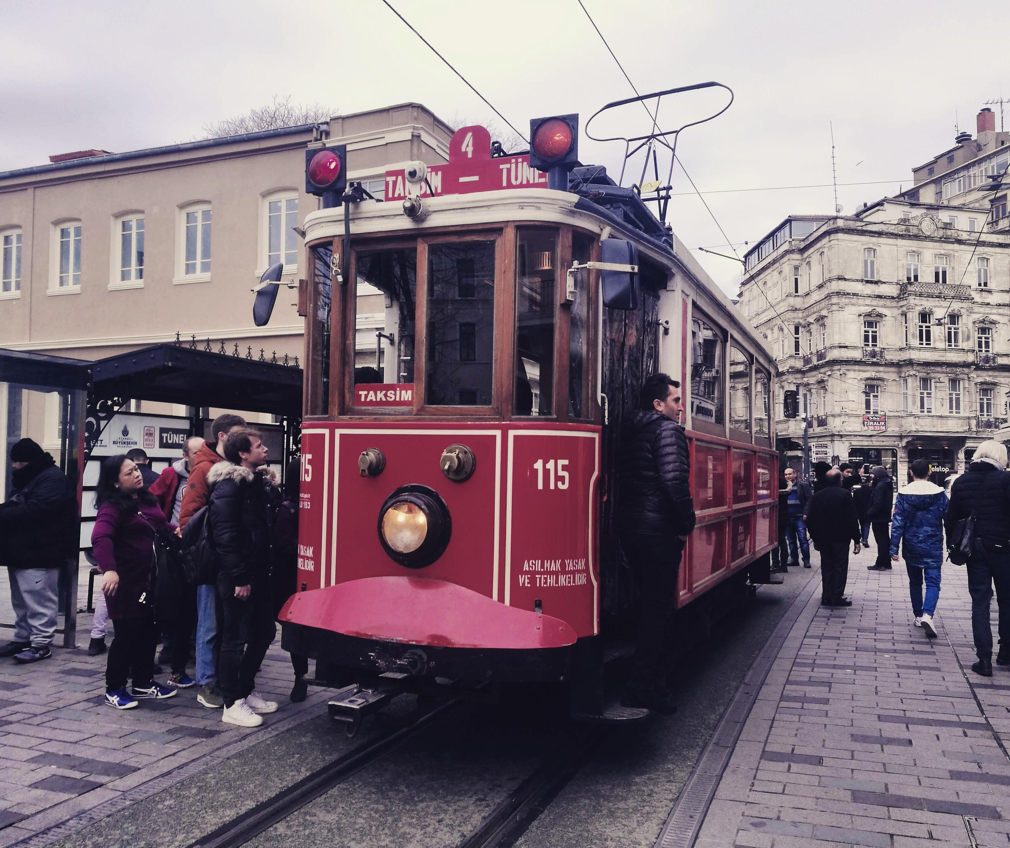 tranvía-Estambul