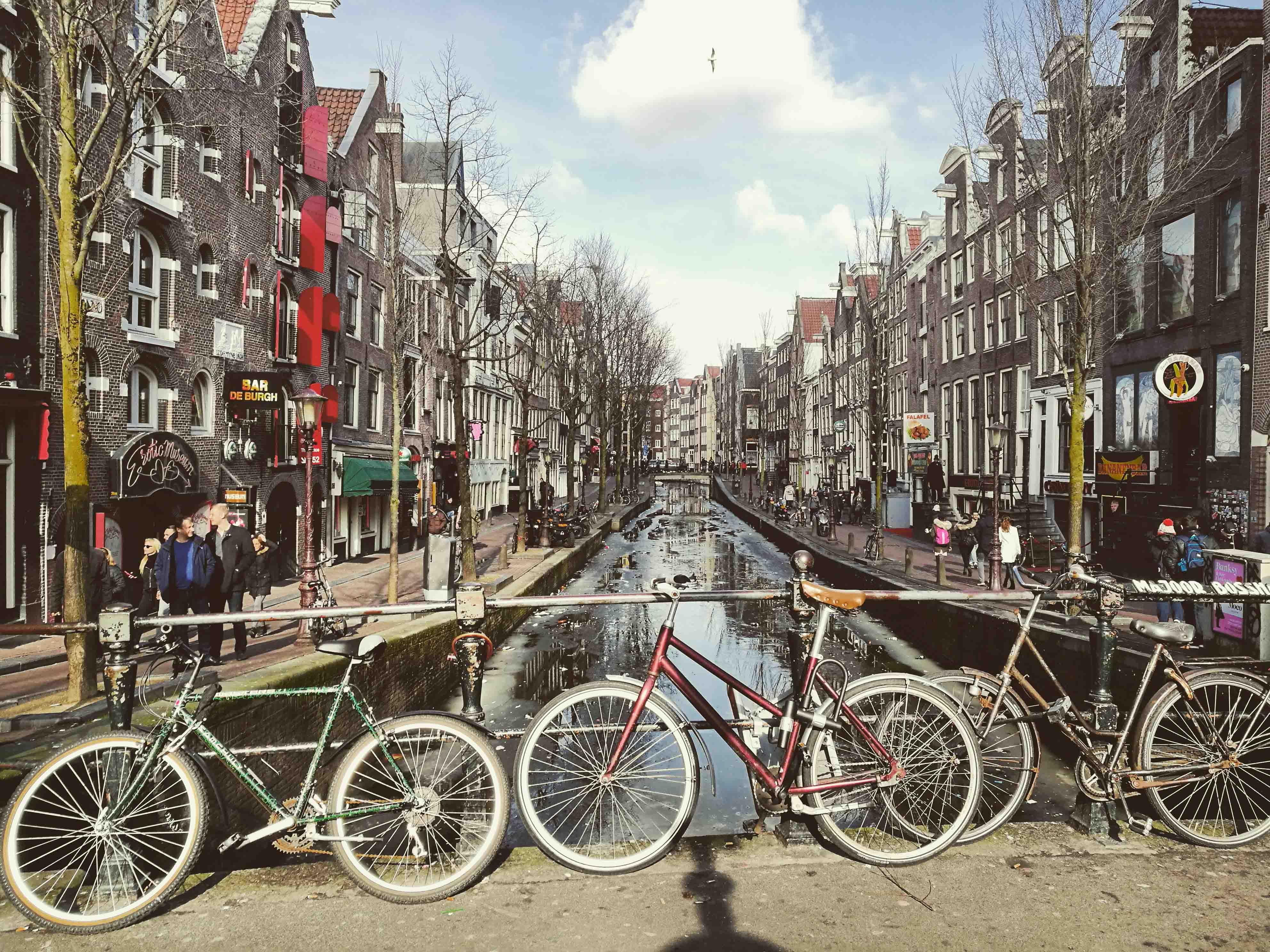 bicicletas-canales-Amsterdam