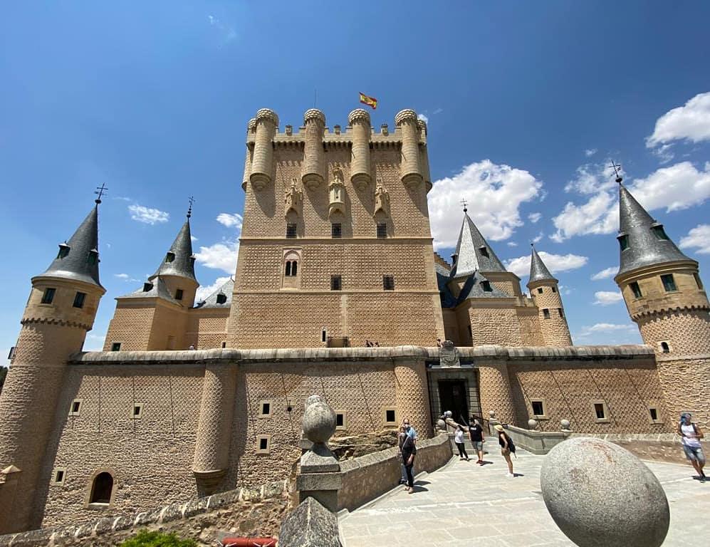 Alcázar-Segovia-castillo