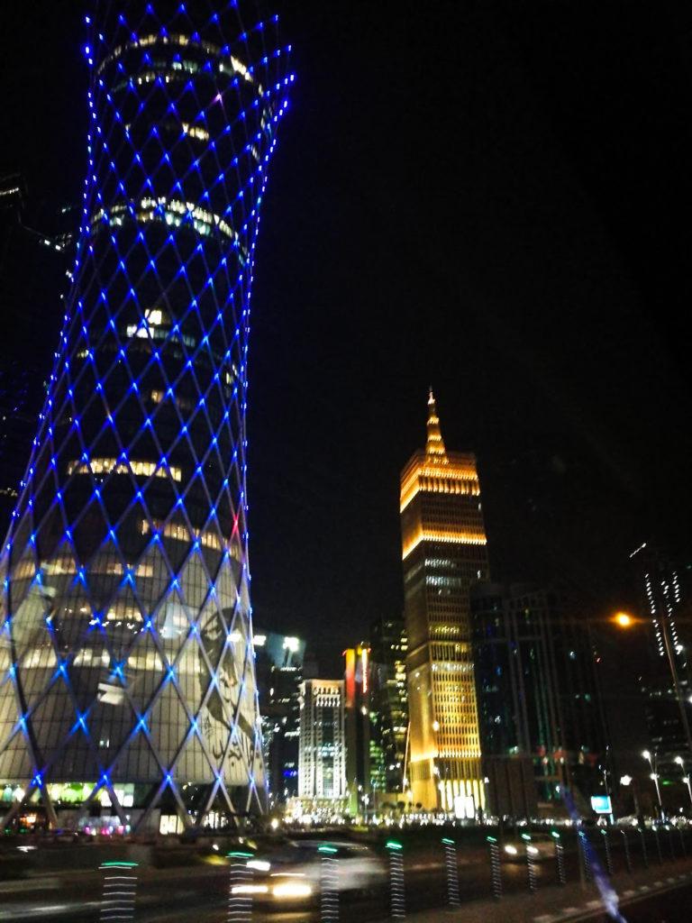 Tours para una escala en Doha