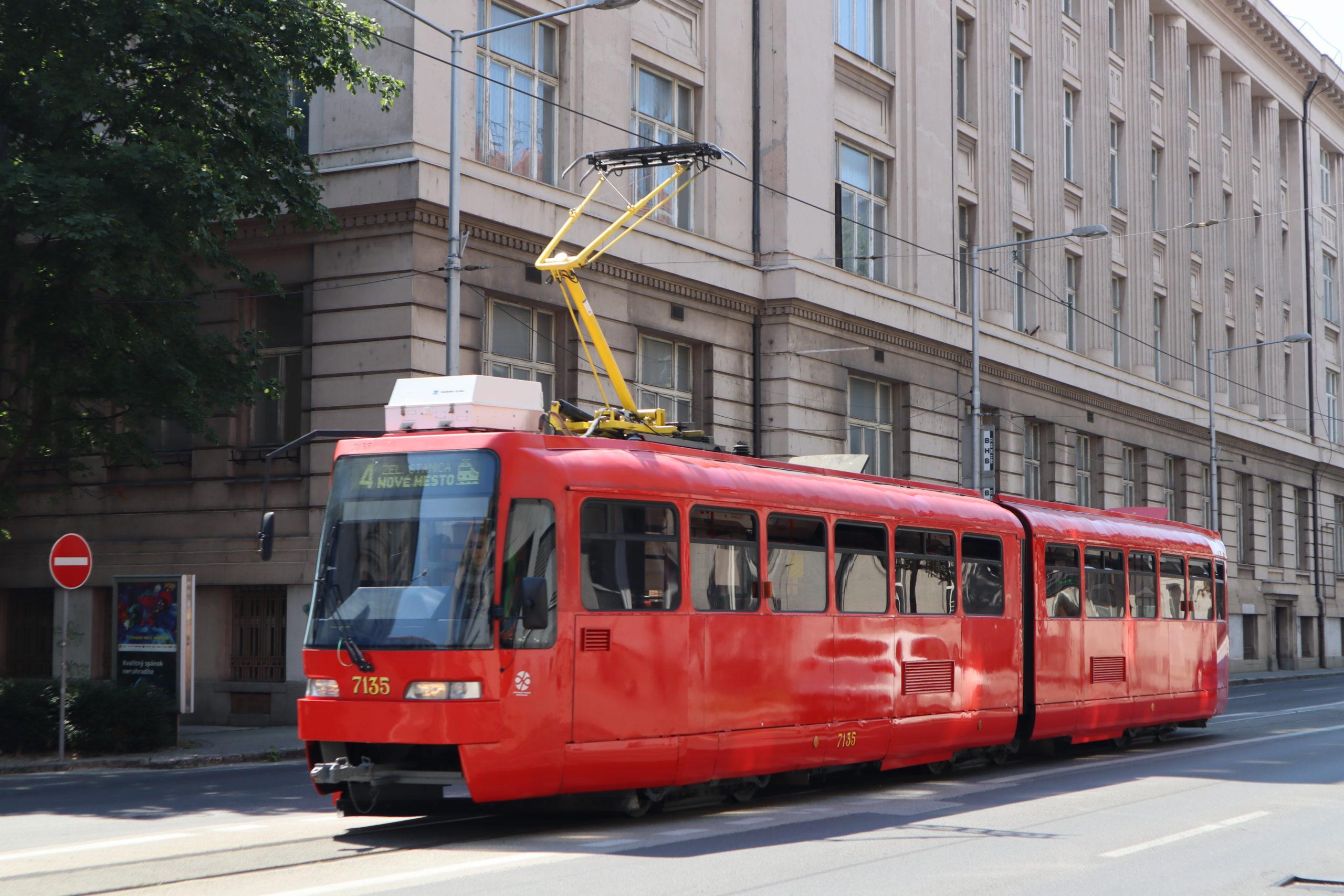 tranvía-Bratislava