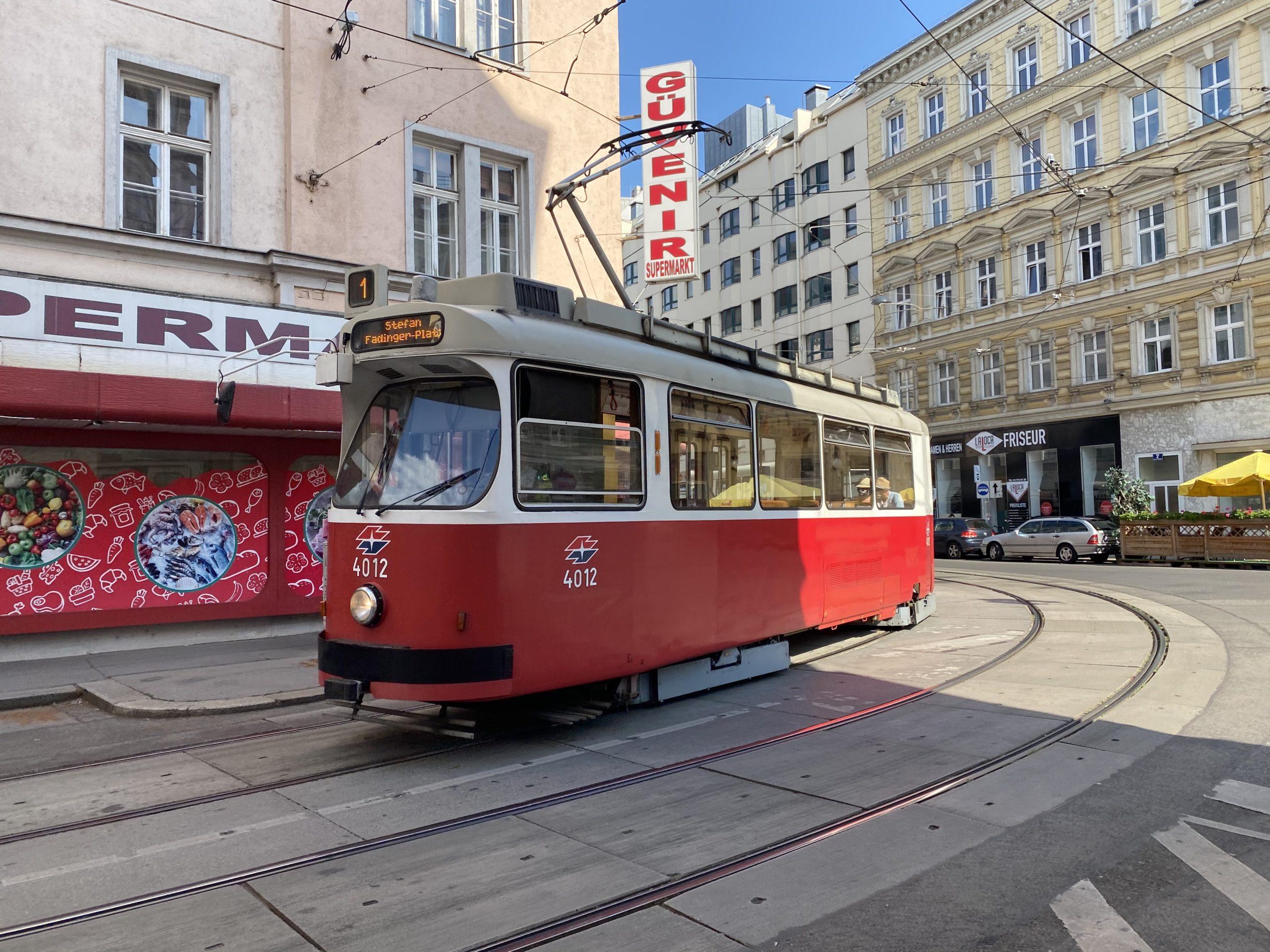 tranvía-Viena
