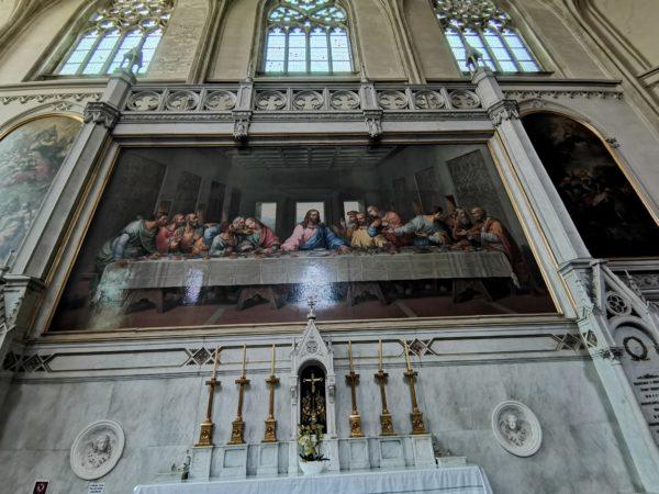 Minoritenkirche-Santa-cena-vinci