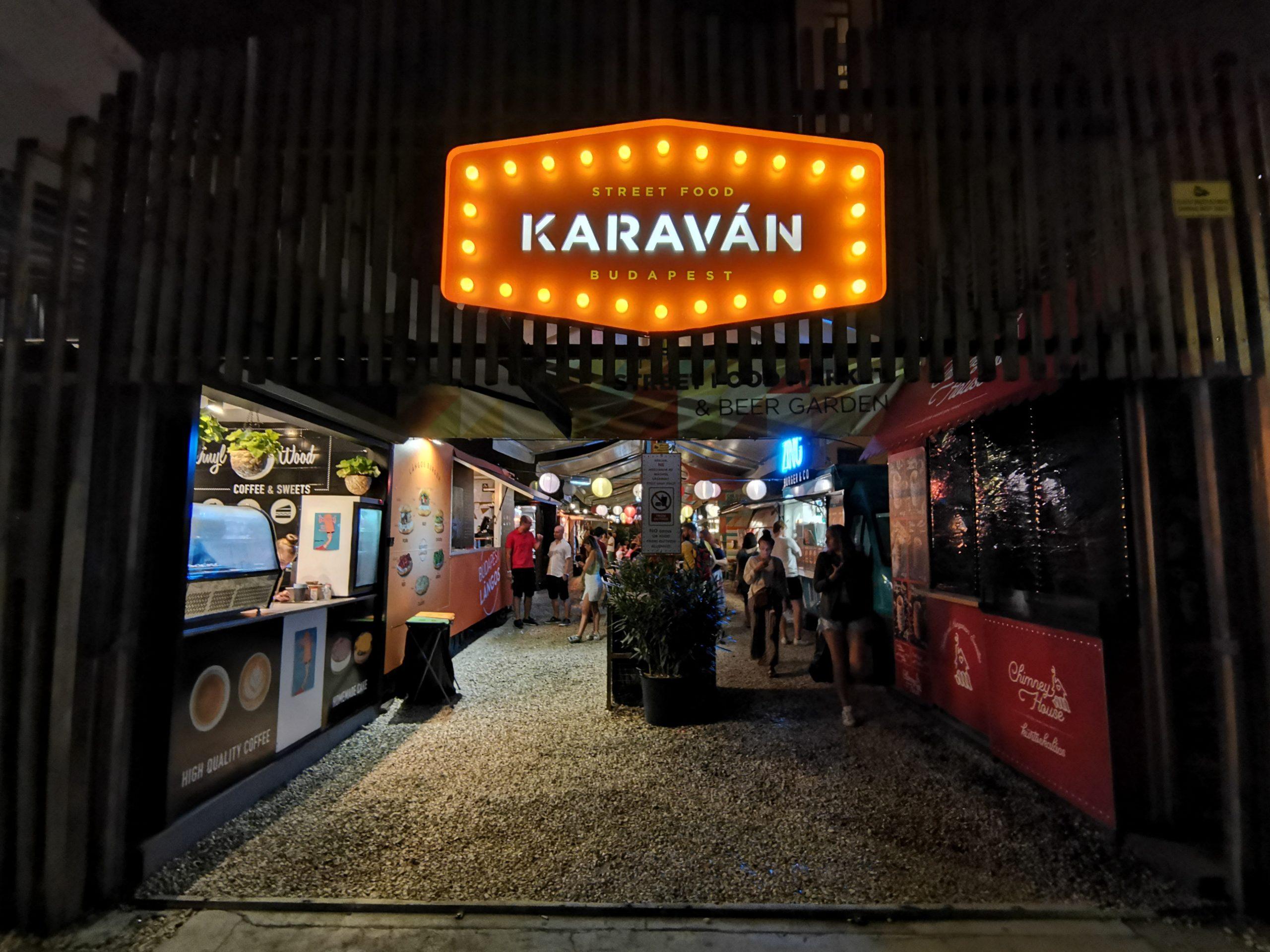karaván Budapest