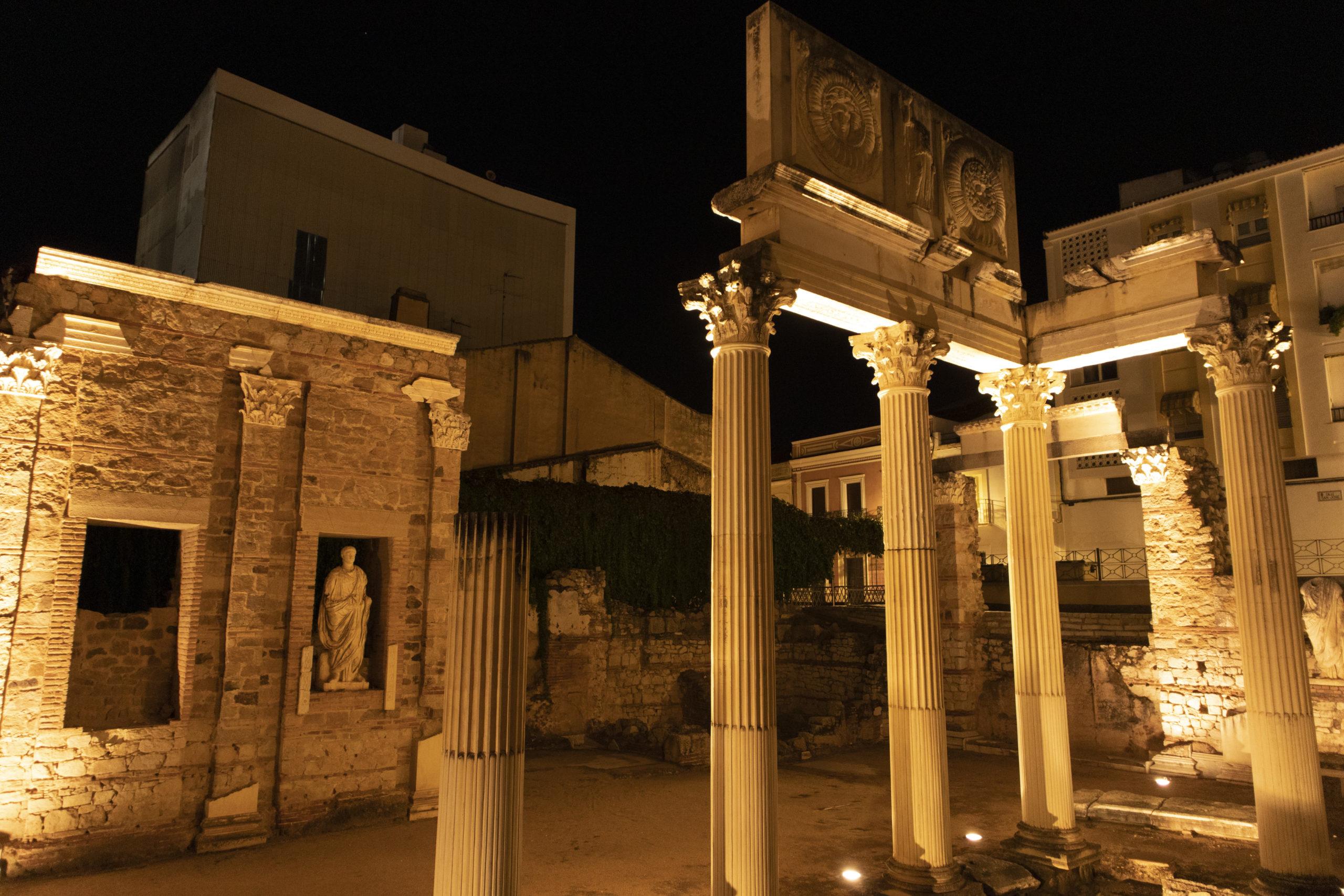 portico-foro-romano-merida