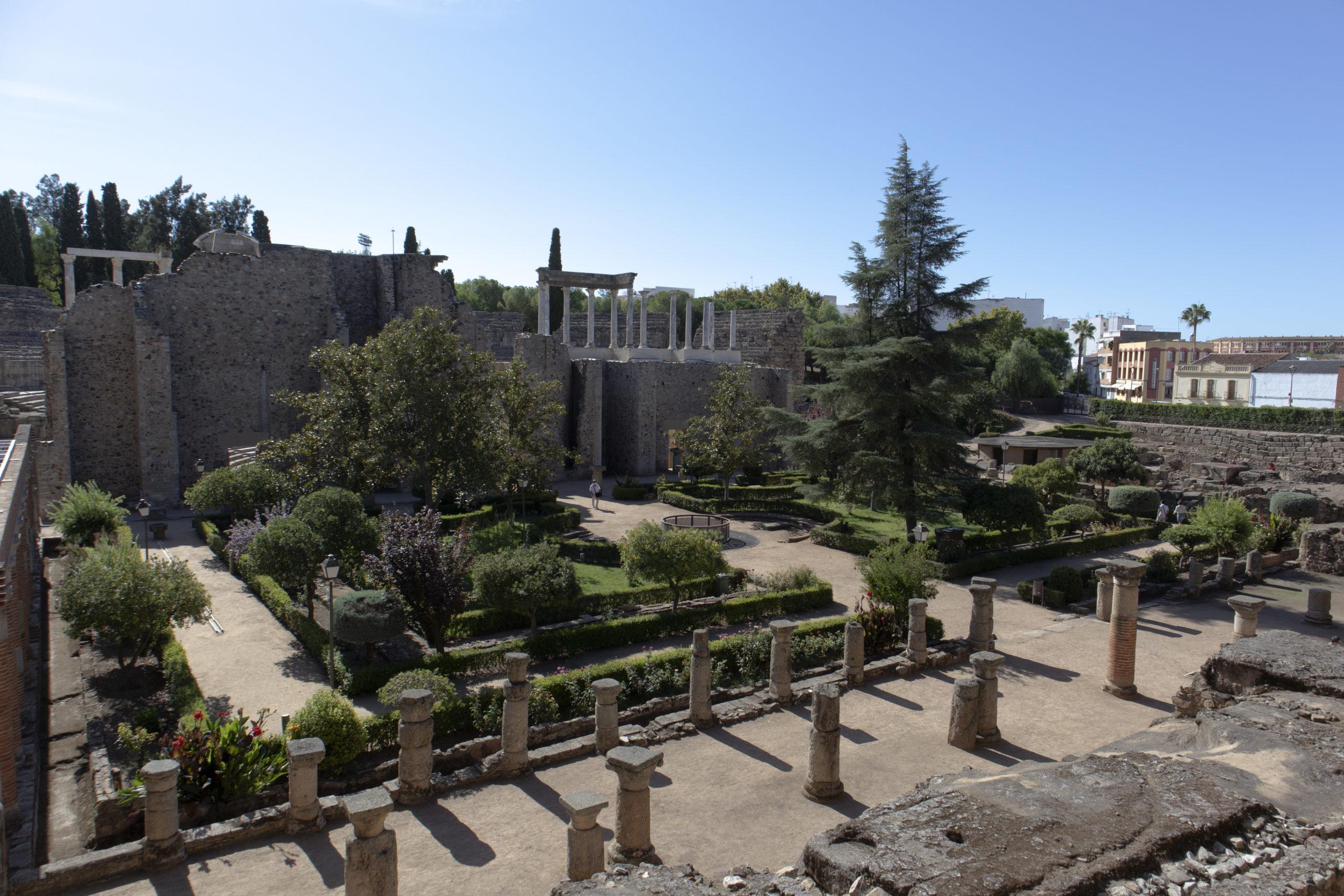 jardín-teatro-romano