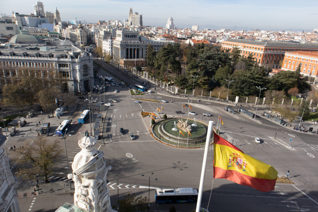 Mirador Madrid, un paseo por el Palacio de Cibeles