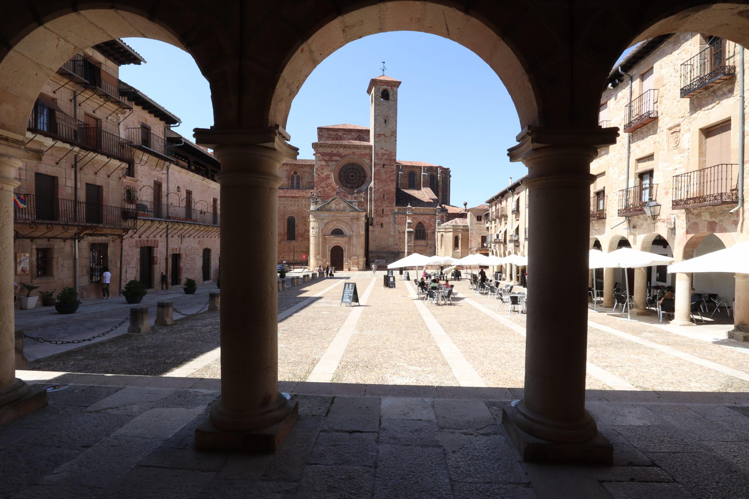 plaza-mayor-Sigüenza
