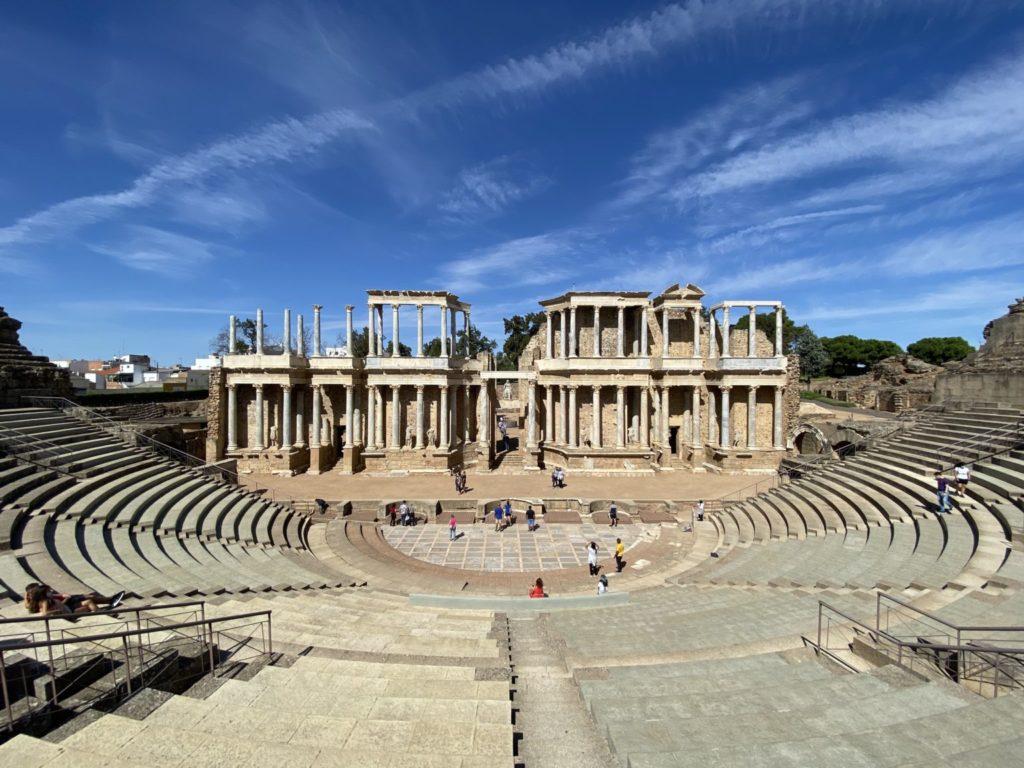 Cómo visitar el anfiteatro y el teatro de Mérida